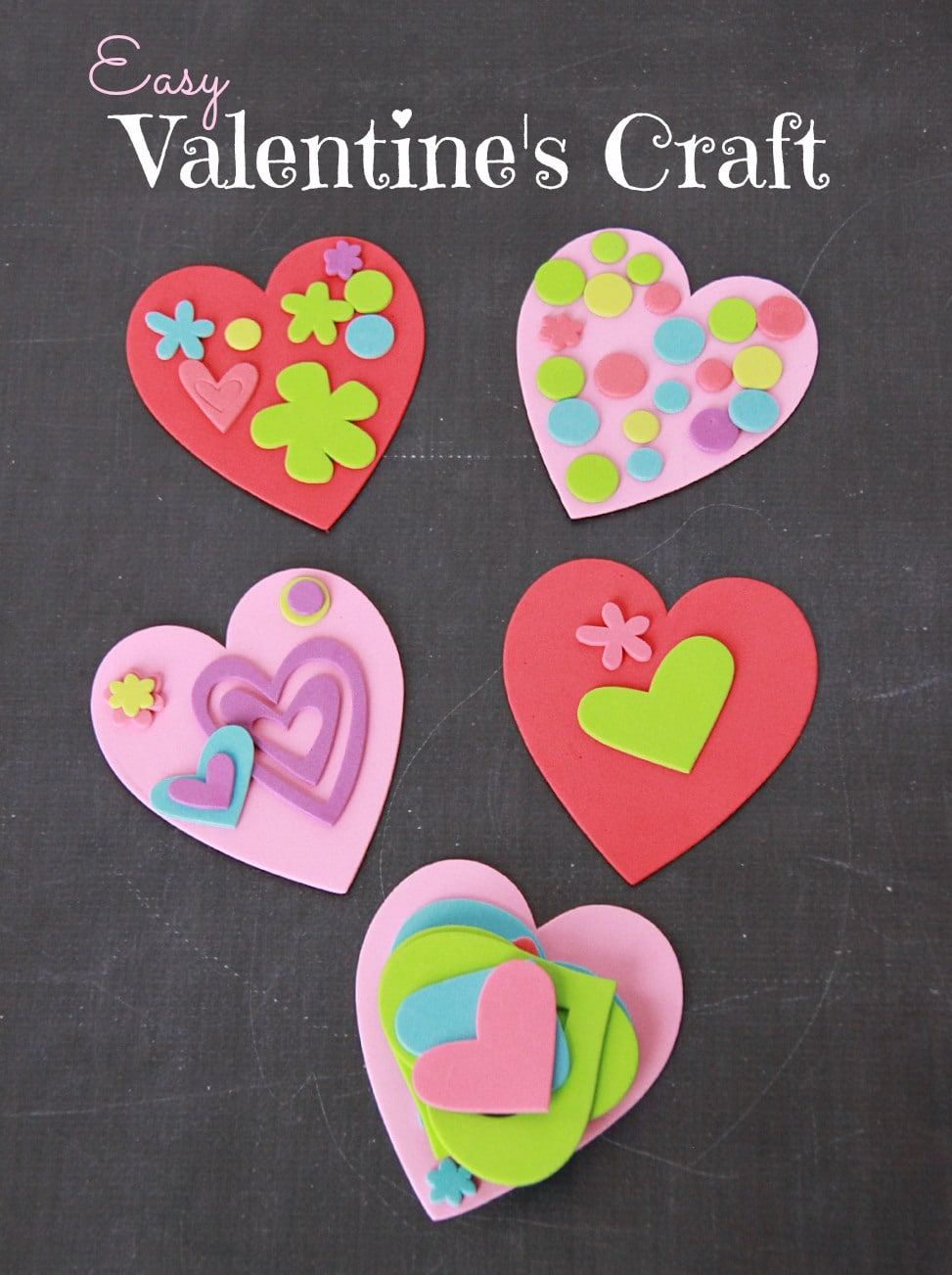Kid's valentine's crafts