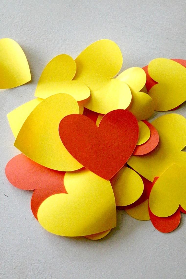 lion valentines day craft