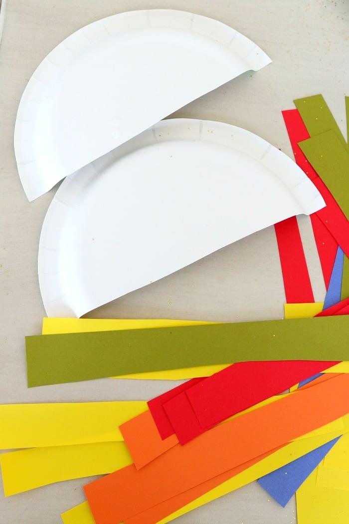 paperplate rainbows