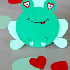 Hopping Into your Heart: Valentines Frog