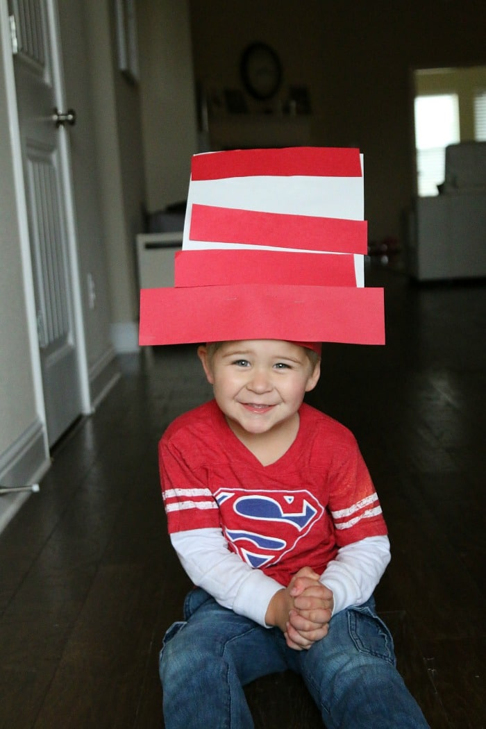 dr suess inspired hat