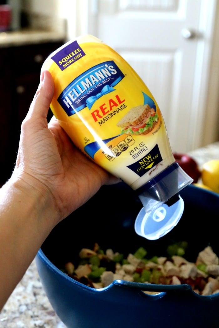 hellmanns clean lock cap