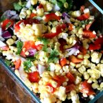 Black Bean and Corn Salsa Sidedish Recipe