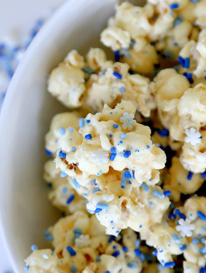 White Mint Chocolate Popcorn Recipe