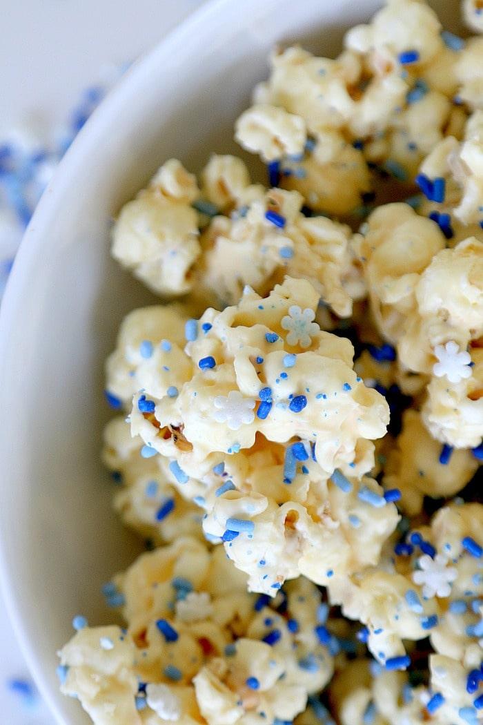 White Mint Chocolate Popcorn Recipe