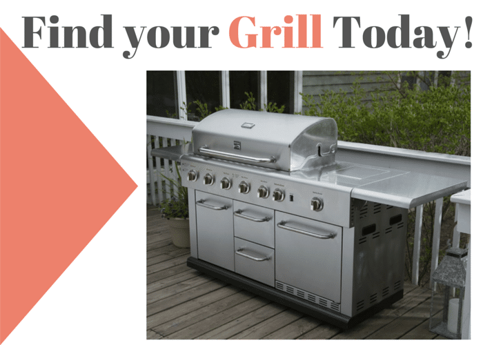 Find your Grill Today!