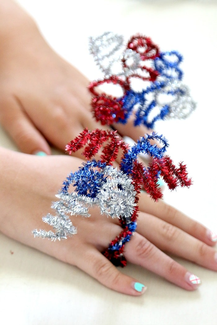 4th of july crafting