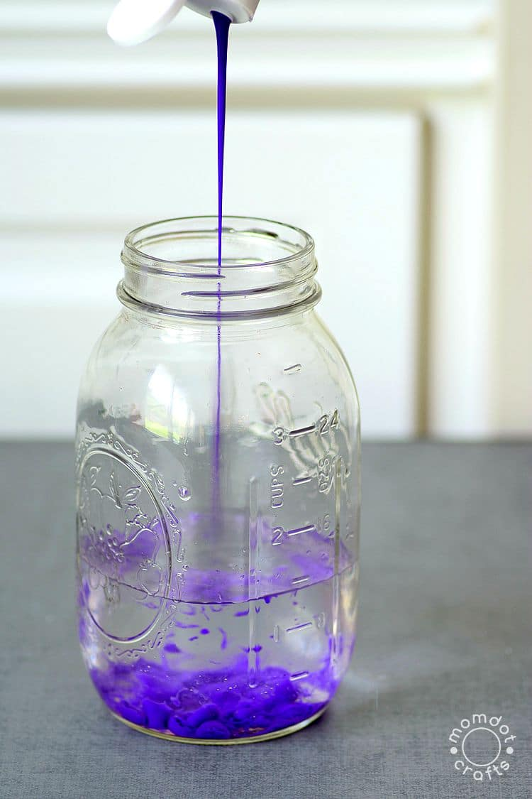 Galaxy Jar DIY