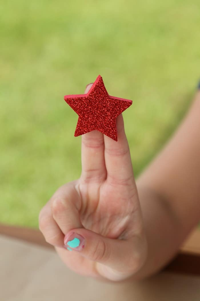 crafting with stars for kids