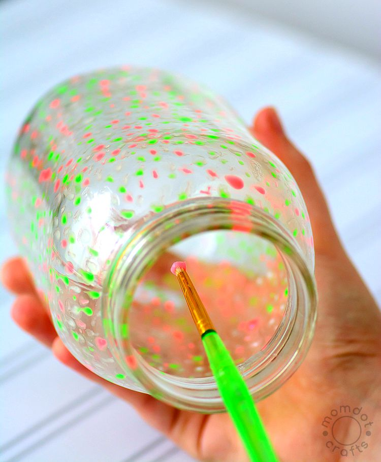 How to make a Galaxy Jar that Glows