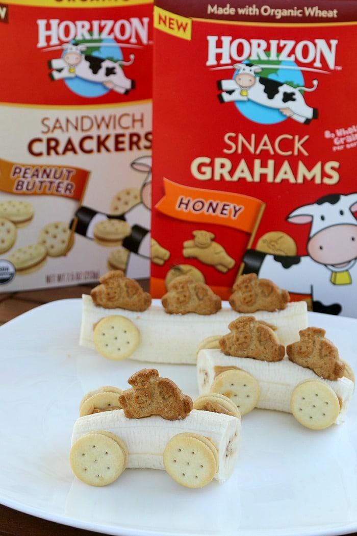 Create a Circus Train Snack