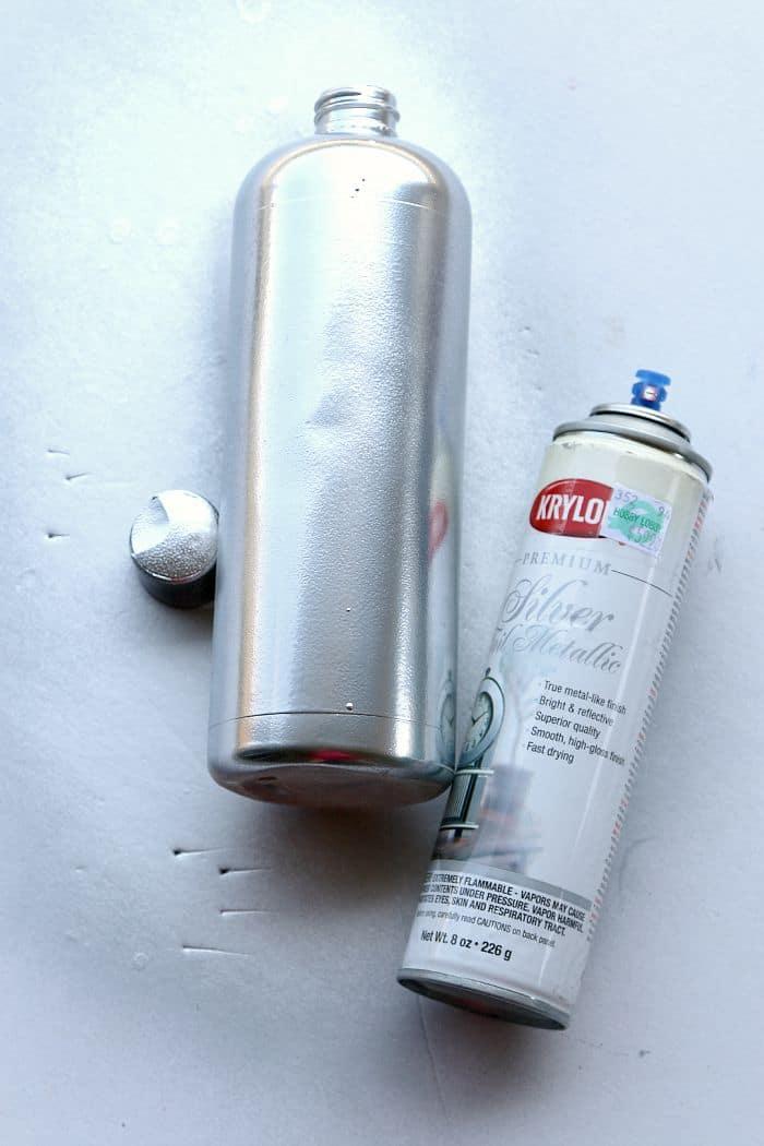 Reuse shampoon bottle for bathroom safe vase for Bathroom bottles