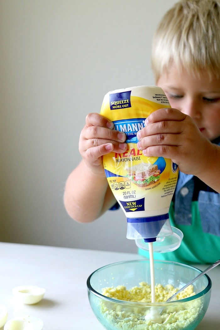 squeeze mayo hellmanns recipe