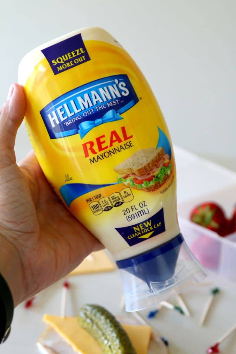 Hellmanns new Squeeze more out bottle $1 off