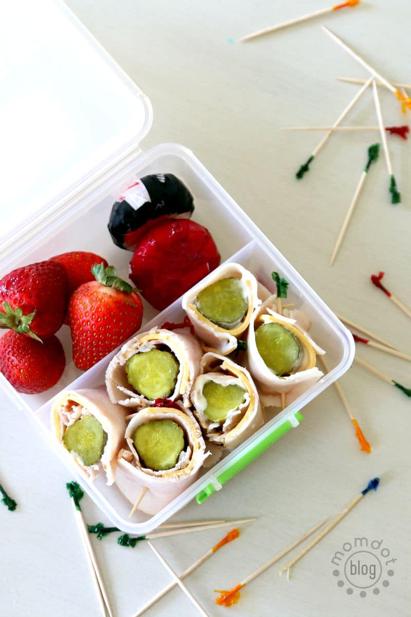 Pickle Pick Me Ups, Easy Sandwich alternative for lunch time, Pickle Rollups, a kids total lunchtime favorite! perfect recipe for afterschool snacking too