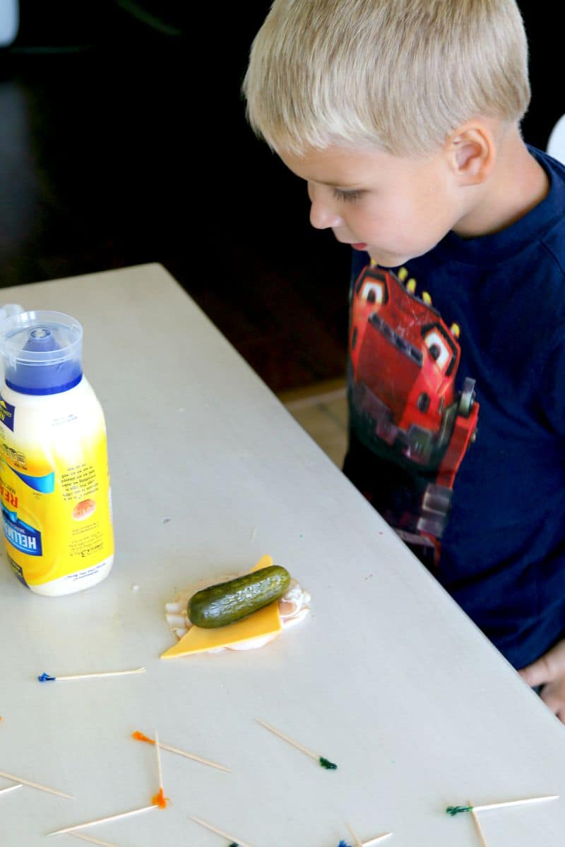 Easy Sandwich alternative for lunch time, Pickle Rollups, a kids total lunchtime favorite! perfect recipe for afterschool snacking too