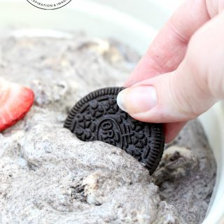 White Chocolate OREO Fluff Dessert recipe