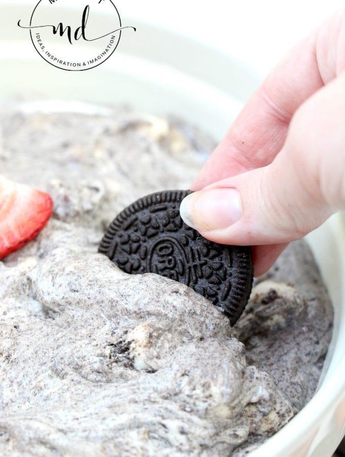 OREO Fluff: No Bake White Chocolate Recipe