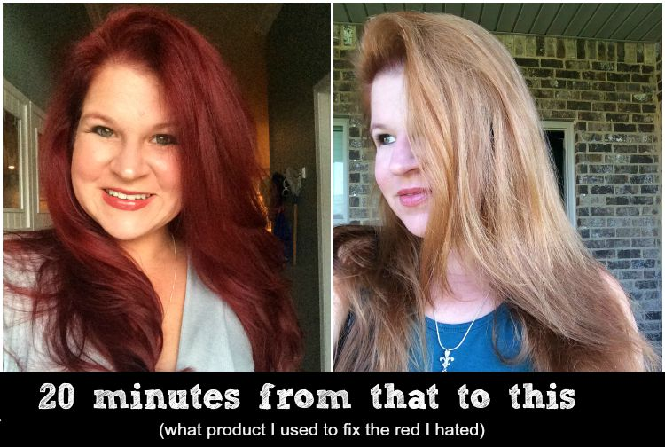 20 minute fix, what you can use to fix a hair dye gone horrible wrong