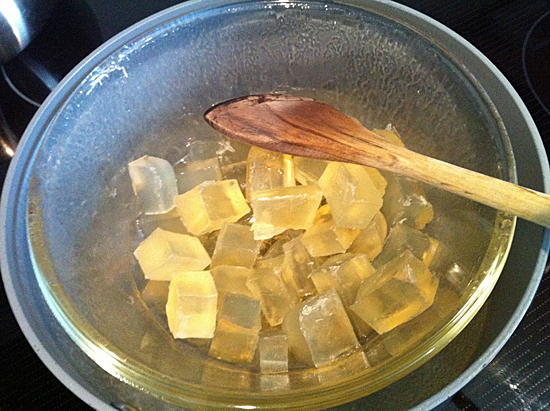 How to make soap without lye: Melt and Pour at home