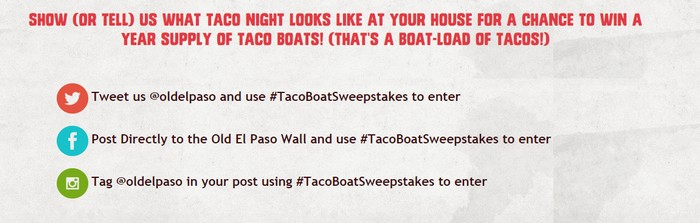 taco boat sweeps