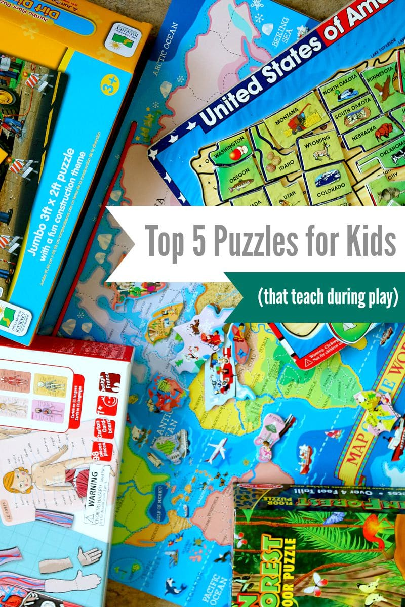 Top 5 puzzles for kids that will teach while playing and not leave you frustrated