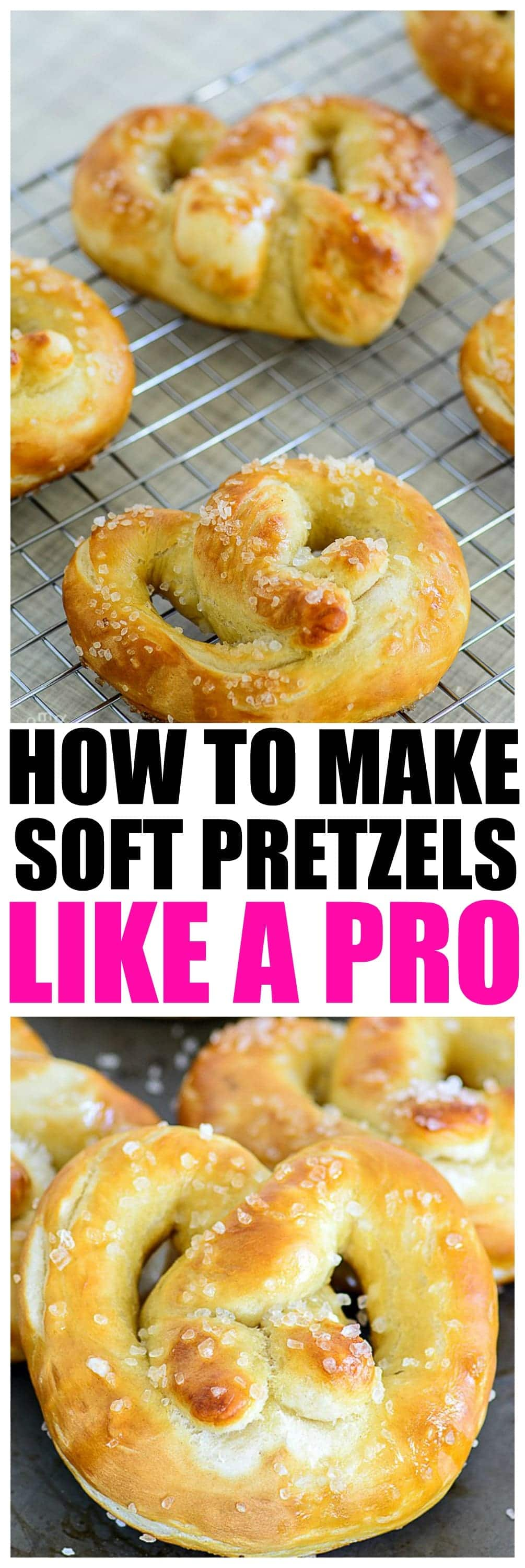 How to make Soft Pretzels like a pro, EASY pretzel recipe that will make you able to make your own custom pretzels at home