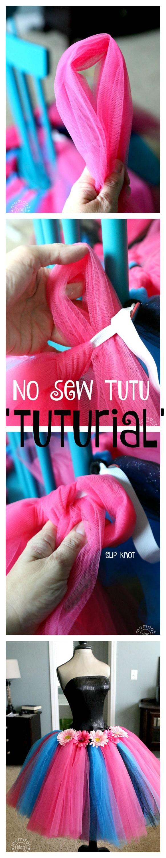 how to make a new sew tutu