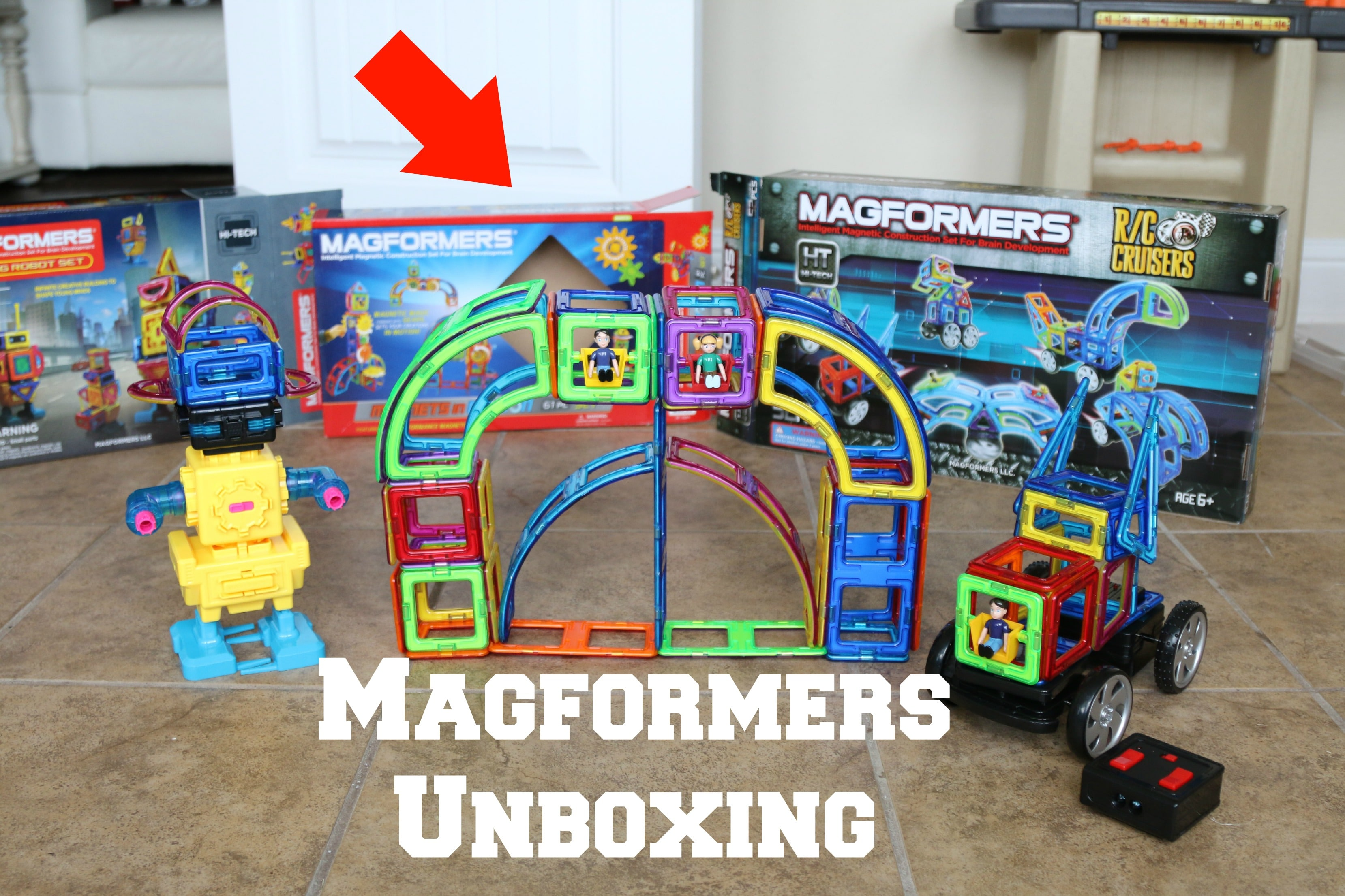 Magformers Magnetic Building Sets Momdot