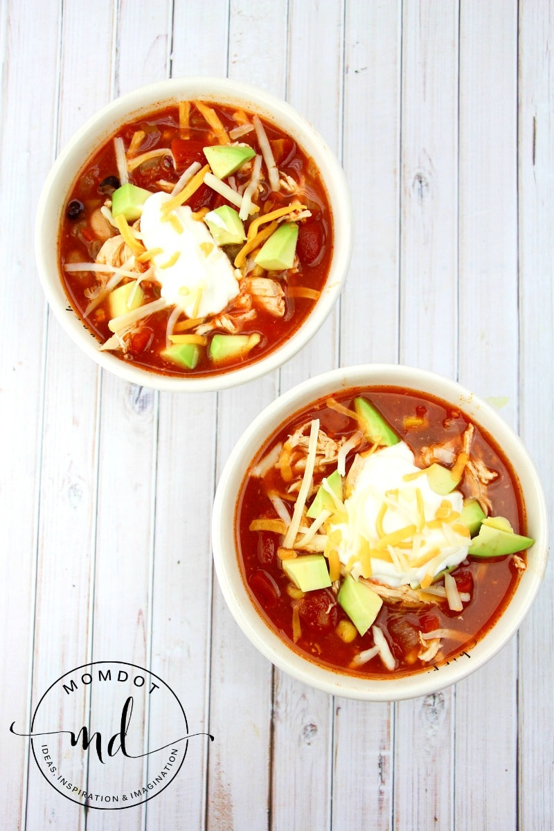 Best Easy Taco Soup Recipe - slow cooker or stove, this recipe is customizable and easy