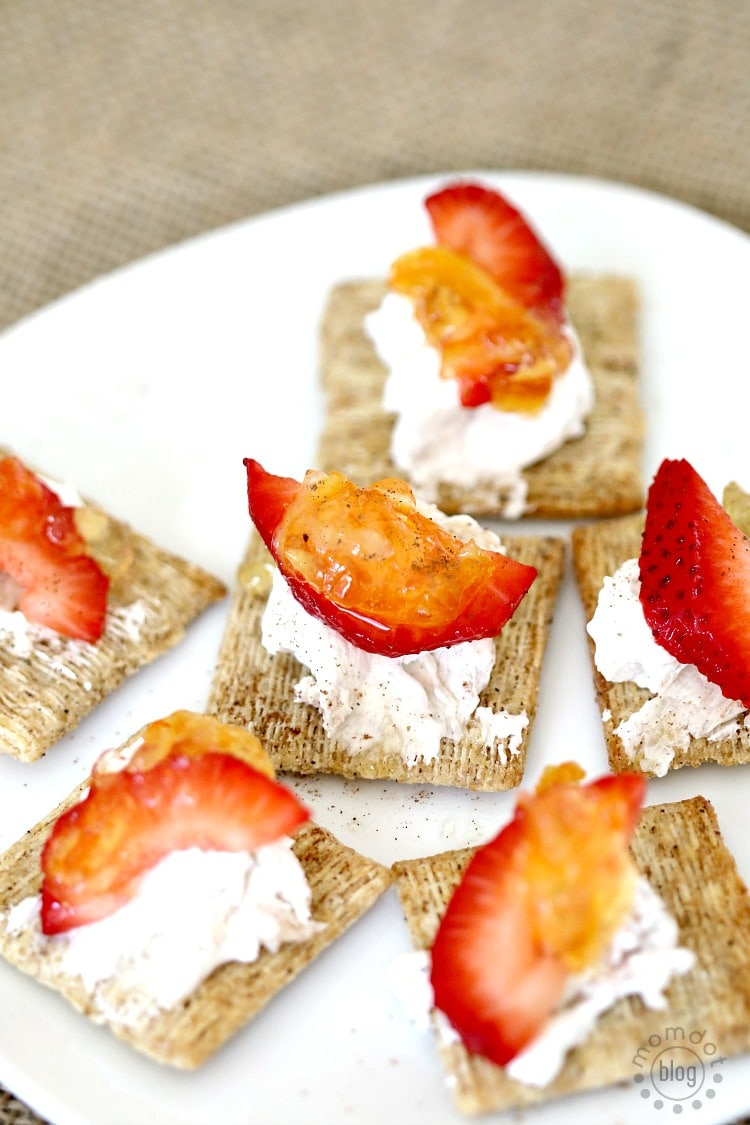 "TRISCUIT Cracked Pepper ""Cheesecake"" Topper"