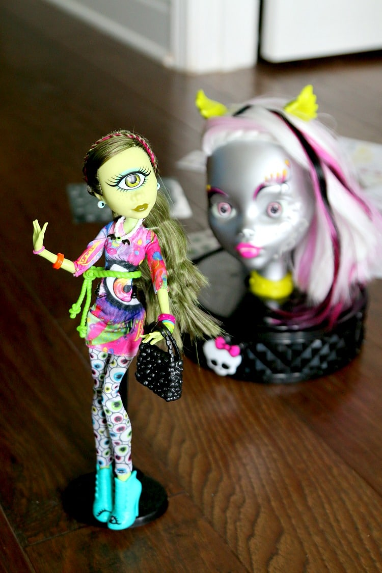 Monster High Create A Monster Head