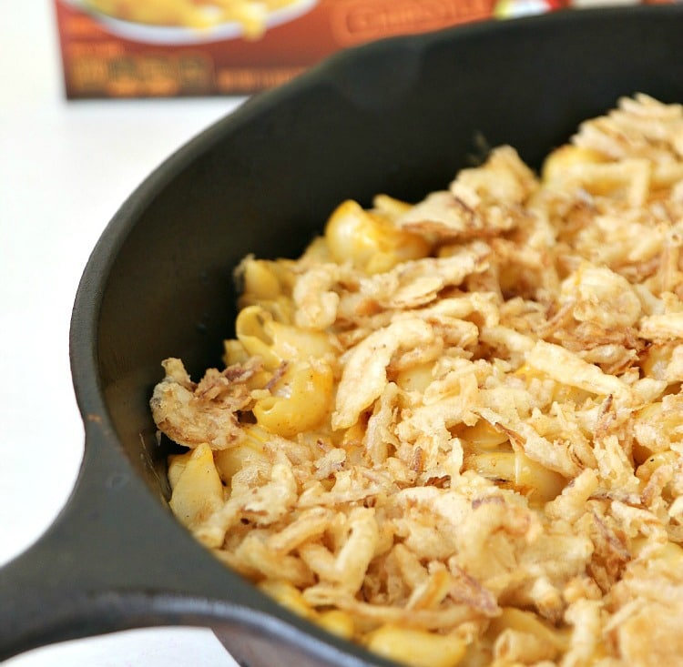 Create an Onion Lovers Mac and Cheese by adding these two easy ingredients to your macaroni tonight