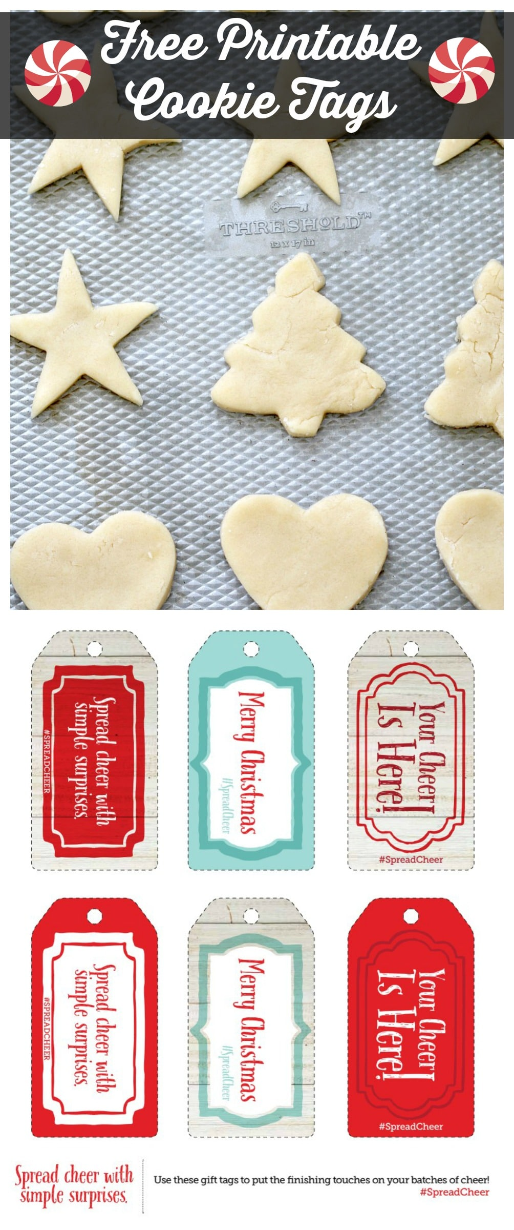 free printable cookie tags