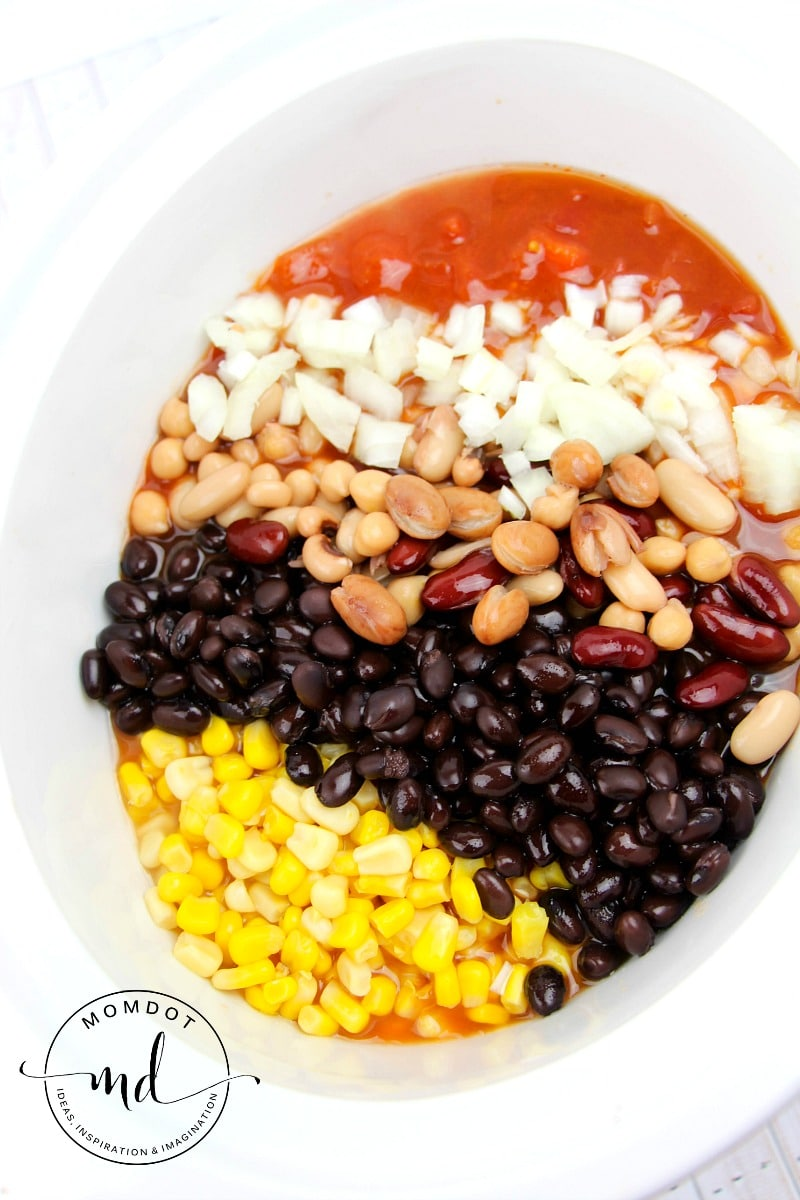 easy taco soup recipe in slow cooker or in 30 minutes