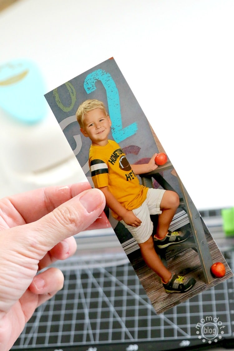 Create Photo Tags to personalize christmas presents or to even use as a DIY Ornament - here is how!