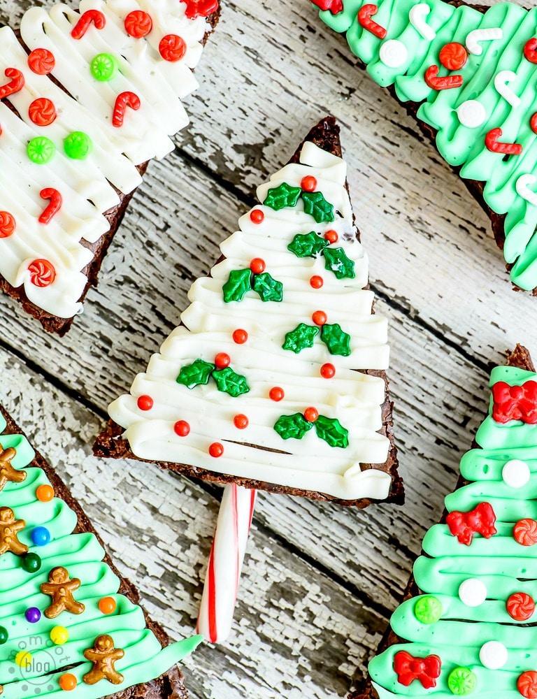 Christmas Tree Brownies: Baking up Holiday Fun