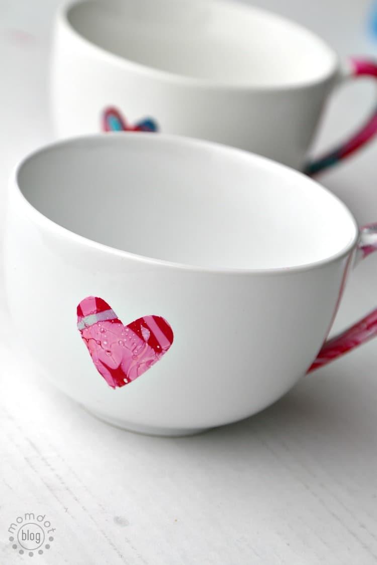 Marbling A Coffee Cup Diy