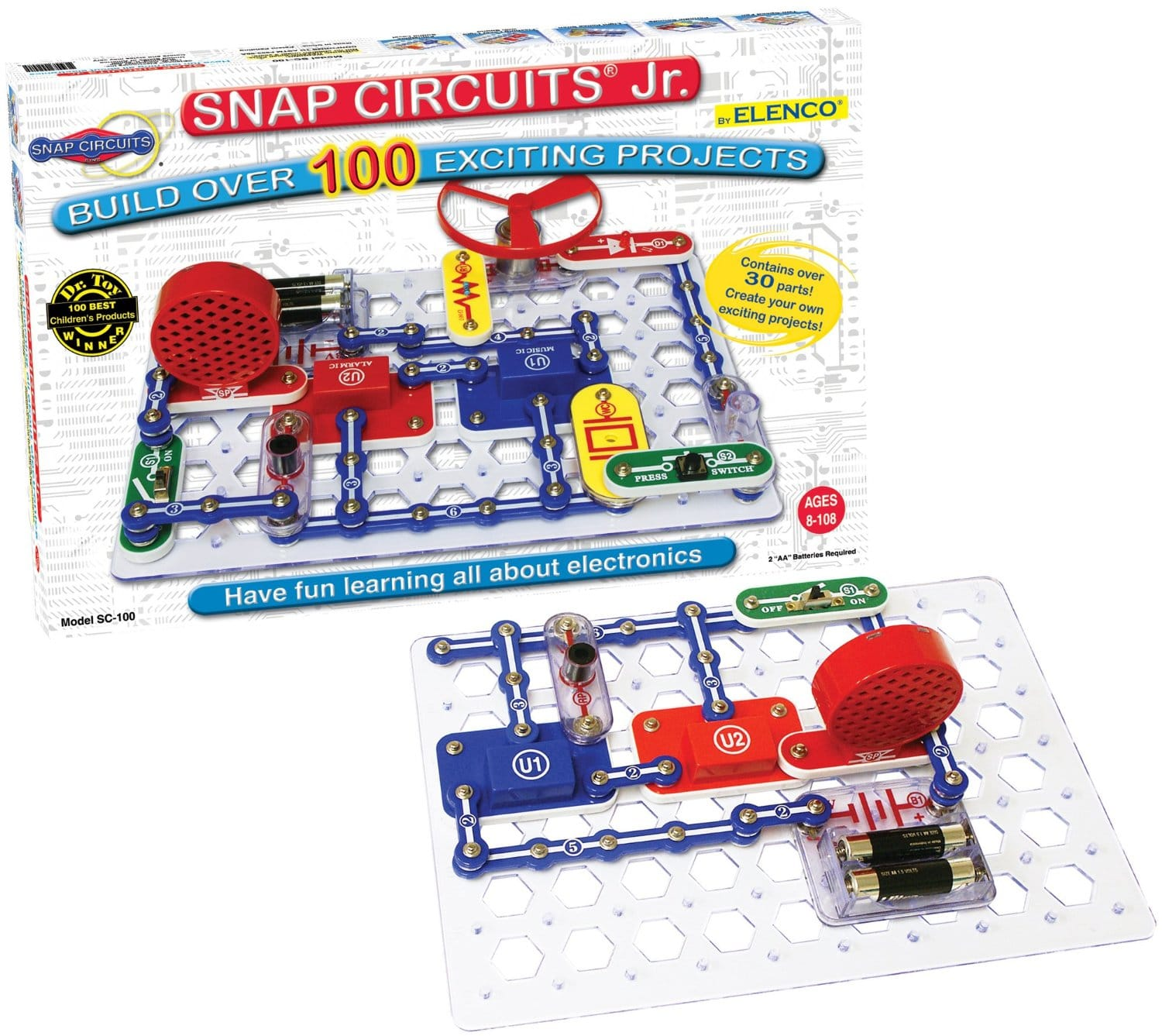 snap circuits gift for 10 year old girl