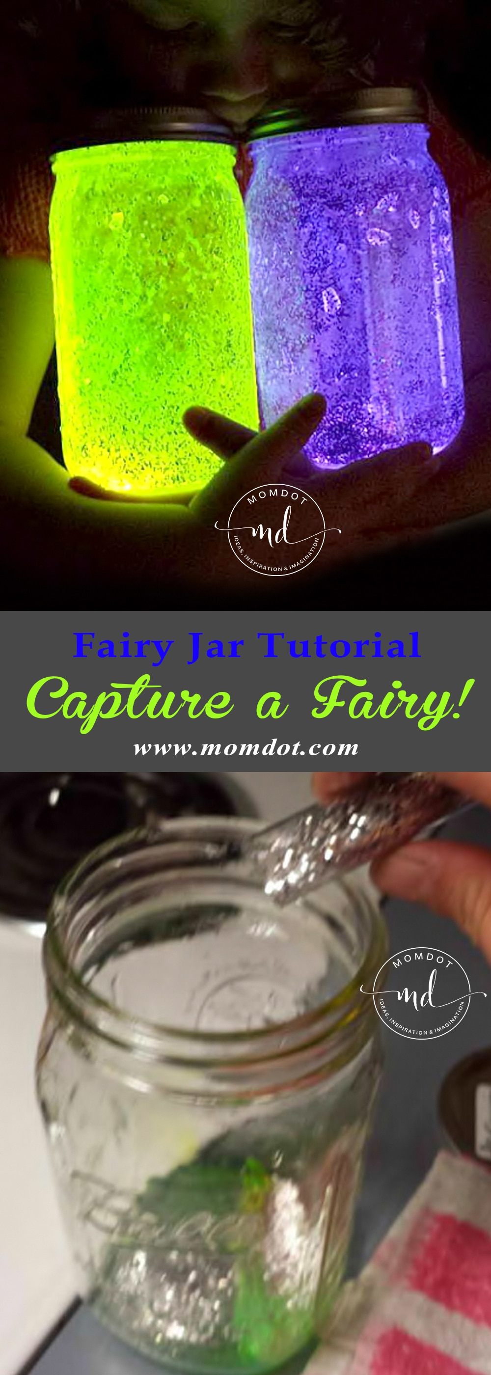 Fairy Jar Tutorial: DIY and Capture a fairy!