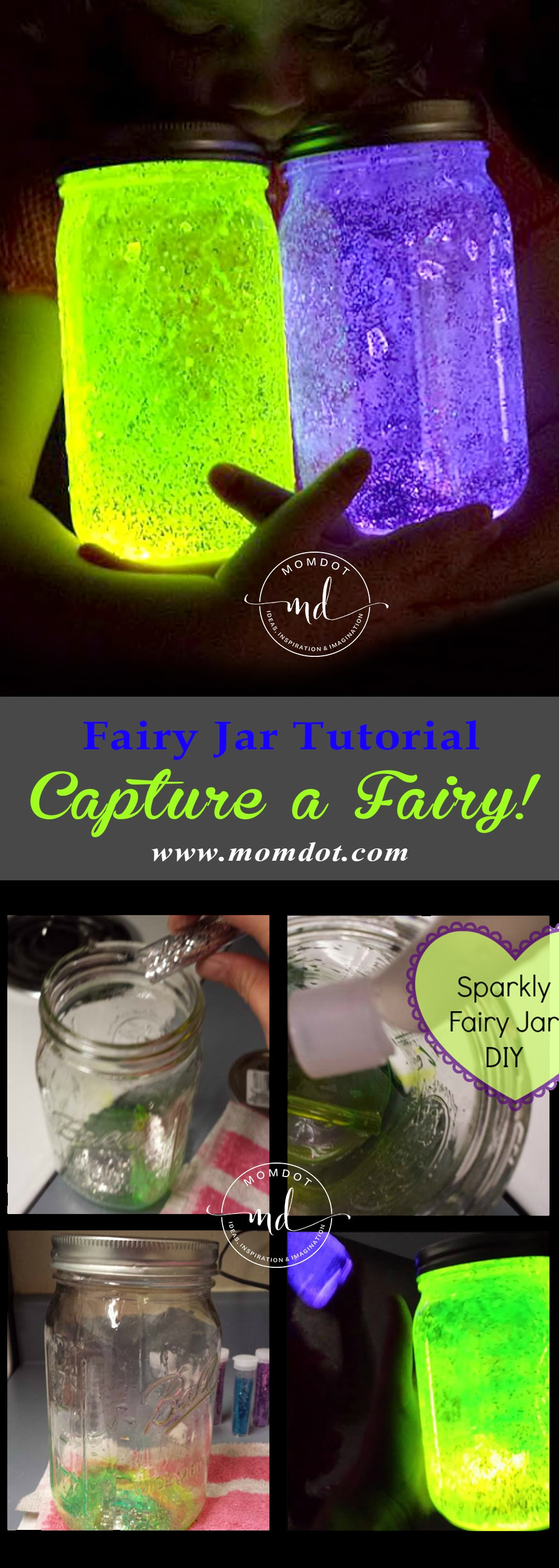 Fairy Jar Tutorial Diy And Capture A Fairy