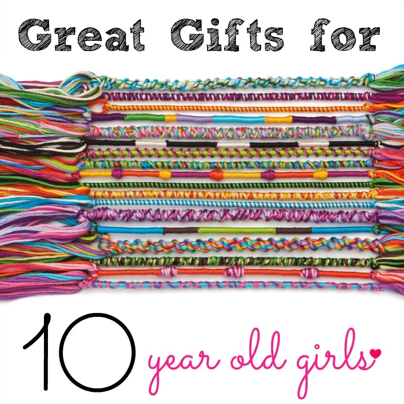 great gifts for 10 year old girls get a gift she loves inspires her