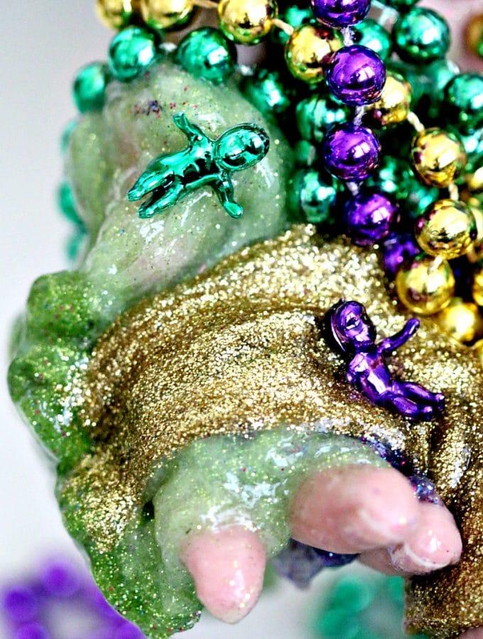 Create Mardi Gras Slime