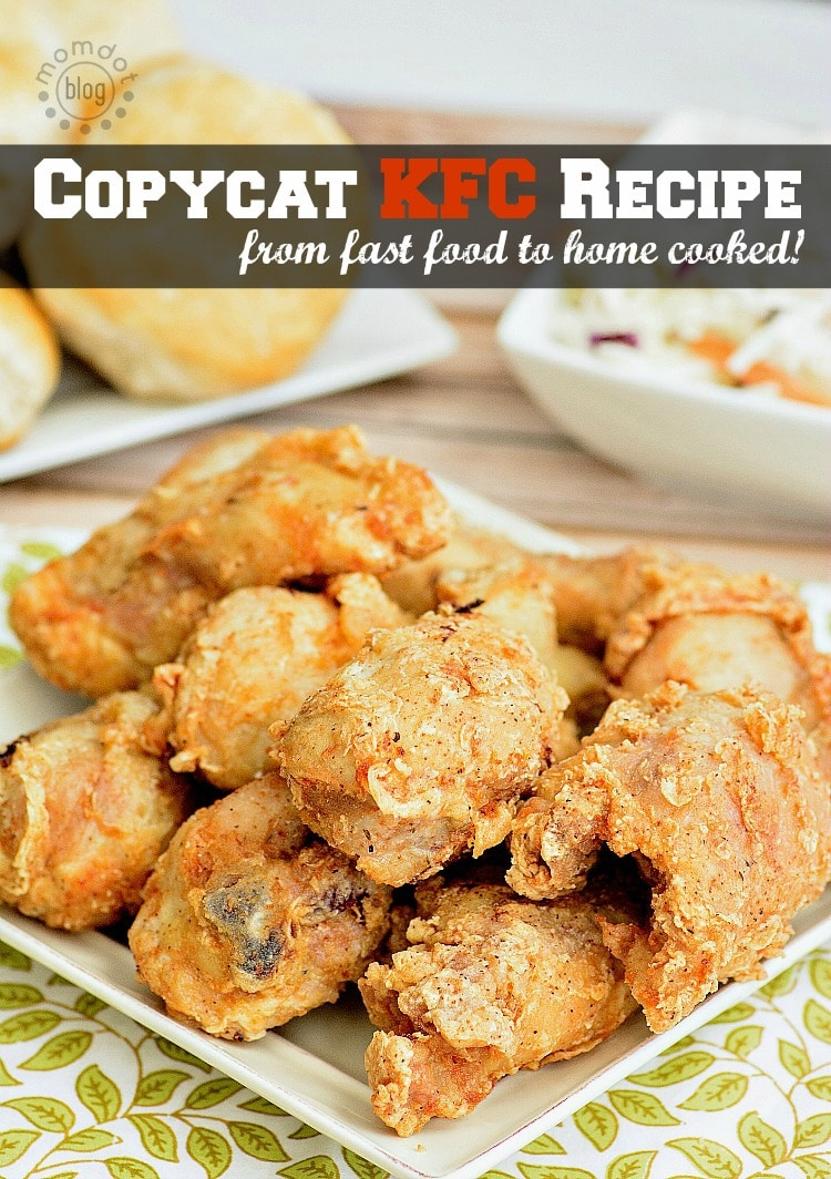 Copycat KFC Chicken Recipe: Skip Fast Food for Homecooked meal with this at home KFC recipe, perfect with side of corn and homemade coleslaw