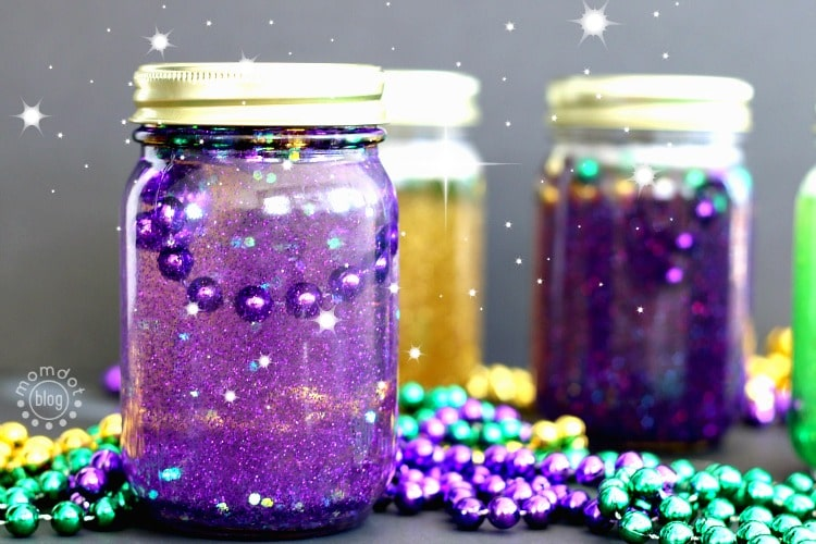 calming jars for mardi gras