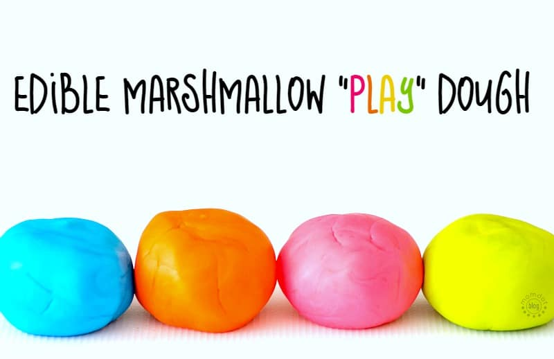 marshmallow playdough