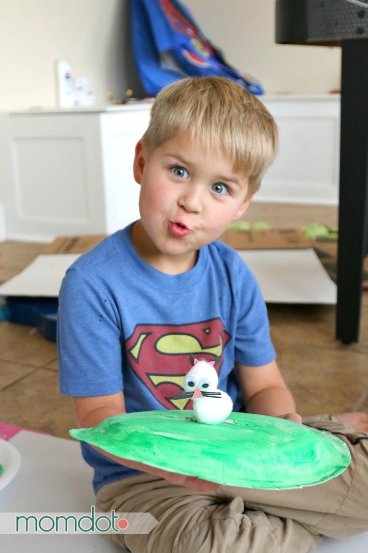 Little Bunny Foo Foo Paper Plate Craft