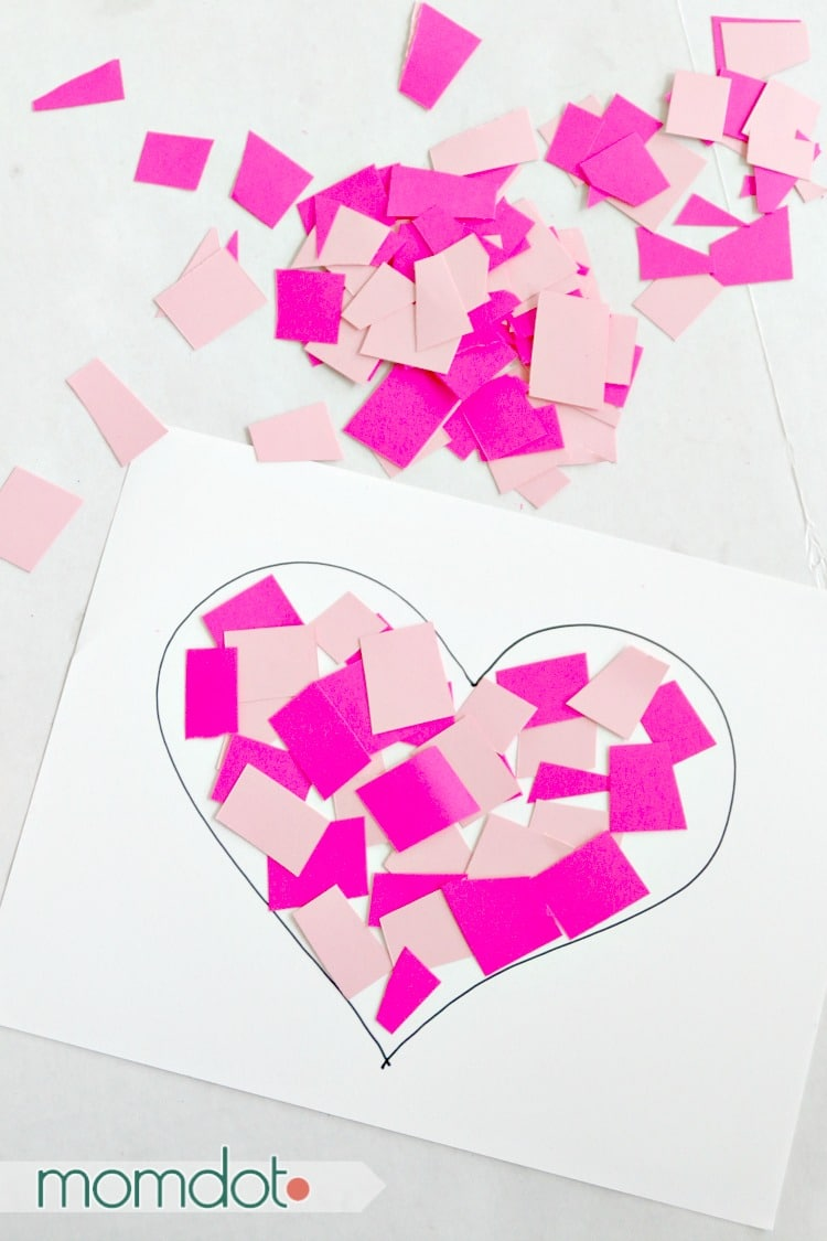 Don't Break My Heart this Valentines Day: Paper Cutting Craft for Kids