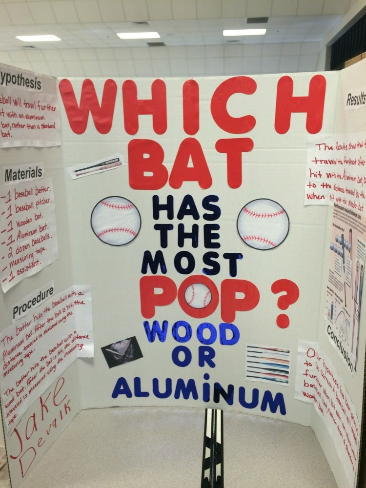 How to do a successful sports-themed science fair project