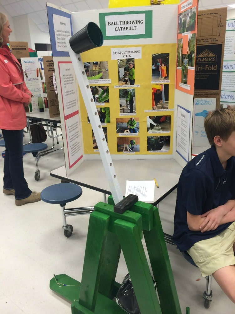 science fair project momdot